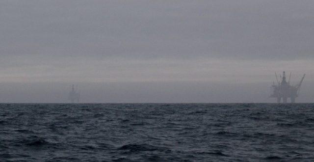 North Sea storm clouds