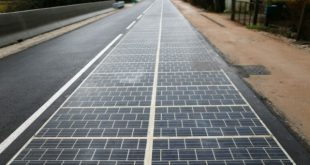French solar road