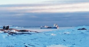 Arctic oil decline