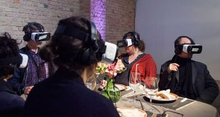 Dining at the virtual restaurant