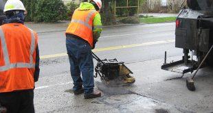 Pothole drone