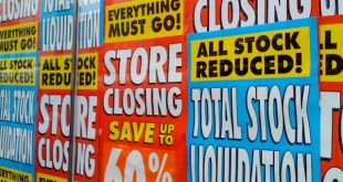 Britain's Christmas closing down sale