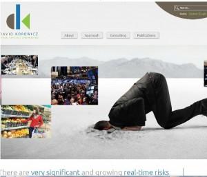 David Korowicz homepage