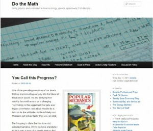Do The Math homepage