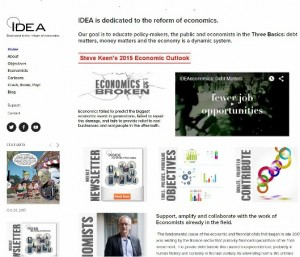 Institute for Dynamic Economic Analysis homepage