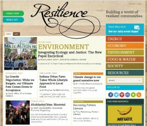 Resilience homepage