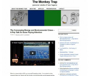 The Monkey Trap homepage