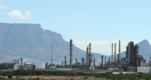 Oil Refinery South Africa