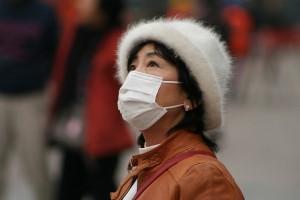 China smog mask