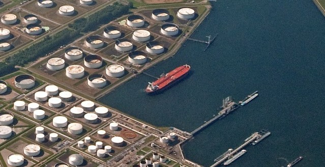 Rotterdam tank farm