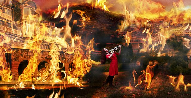 Fiddling while Rome burned