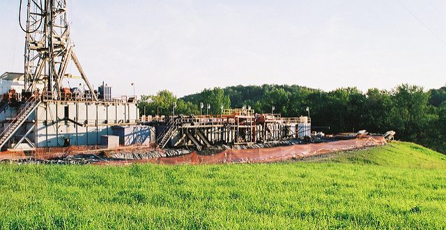 Gas drilling