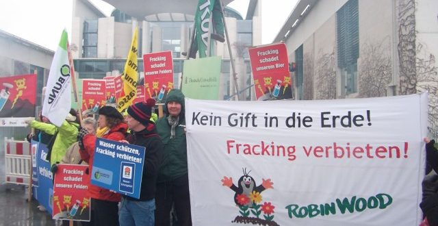 Anti Fracking Berlin