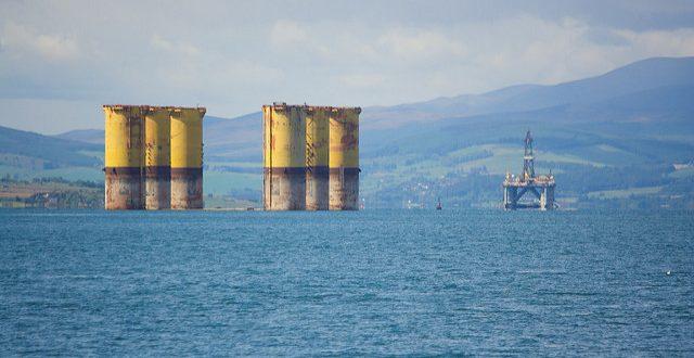 North Sea oil decommissioning