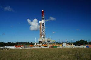 High-tech fracking rig