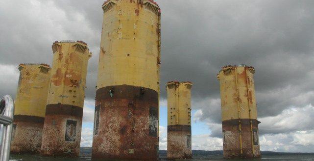 North Sea oil crash