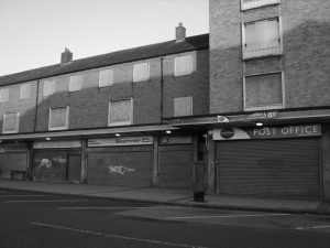 Derelict high street