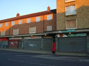 Derelict shops