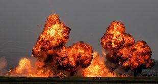 Fracking explosion