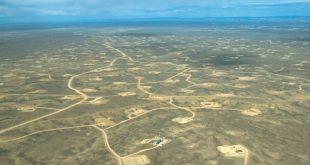 Fracking pads