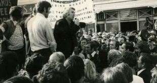 Industrial Relations Act protest 1972
