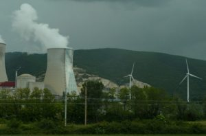 Nuclear wind power