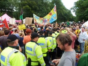 Fracking police costs