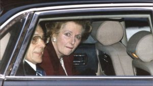 Thatcher's legacy of debt