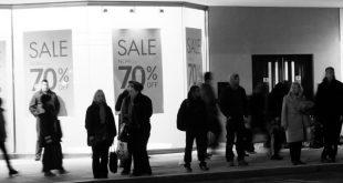 Christmas sales down