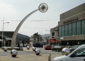 Ebbw Vale town centre
