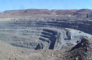 Coal mine in Queensland
